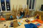 112 PÄEVA BLOGI: FOTO: Saku huvikeskuse lapsed tegid memmedele südamlikud kingitused