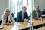 Siim Kallas kohtub riigikogus Keskerakonnaga