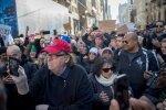 Michael Moore novembrikuisel protestil New Yorgis.