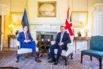 Taavi Rõivas kohtumas David Cameroniga