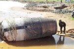 Myanmaris kukkus taevast alla 3,7-meetrine tundmatu metallist objekt