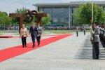 Taavi Rõivas ja Angela Merkel