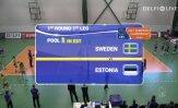 TÄISPIKKUSES! Võrkpallinaiskond võitis Rootsit ja pääses EM-valiksarjas teise ringi
