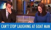 VIDEO: Uudisteankur kaotab enesevalitsuse, kui vahendab lugu mehest, kes elab koos kitsega