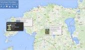 VAATA: Põnev! See kaart näitab reaalajas milliseid raamatuid Eestis laenutatakse