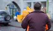 Naistepäeva lillemüük Viru tänaval