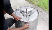 VIDEO | Taaskasutus on moes. Mida teha vana pesumasina trumliga?