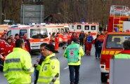 VIDEO ja FOTOD: Rongide kokkupõrkes Lõuna-Saksamaal hukkus vähemalt üheksa ja sai viga sadakond inimest