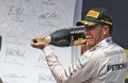 VIDEO: Mercedesed võtsid Ungari GP-l kaksikvõidu, Hamilton tõusis üldliidriks