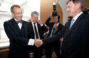 Indrek Tarand surub presidendil kätt