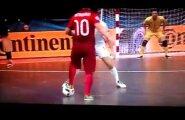 VIDEO: Portugali pallivõlur lõi saalijalgpalli EM-il fantastilise värava!