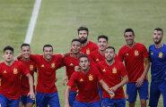 Pool Hispaania jalgpallikoondist võeti dopingukontrolli