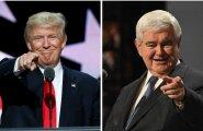 Gingrich ja Trump