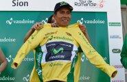 Nairo Quintana Romandia velotuuri liidrisärgis