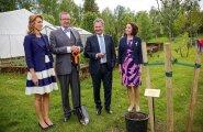 Soome president Sauli Niinistö ja Jenni Haukio käisid tänavu Ilvestel Ärmal külas.