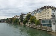 ФОТО читателя Delfi: Прогулка по набережной Базеля