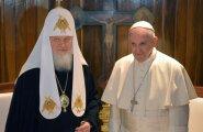 ФОТО: Папа римский Франциск и патриарх Кирилл встретились в Гаване