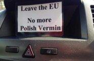 Briti euroreferendumile järgnes võõravaenu laine