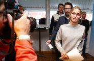 Therese Johaug astub täna uuesti ajakirjanike ette