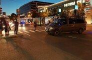Viru keskuse juures politsei
