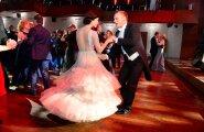 Tanel Padar ja Kristel Mardisoo EV97 ballil