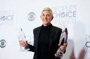 FOTO: Ellen DeGeneres ratsutas Usain Bolti seljas ja maadleb nüüd rassismisüüdistustega