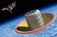 Täispuhutav kuumuskilp toob kosmoselaeva õrnalt laskudes maa peale