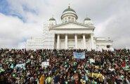 Finland Demonstration