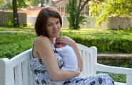 Manona oma esimese poja Tristaniga