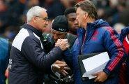 Mis Louis van Gaalil (paremal) suure ManU-ga kahe hooajaga ei õnnestunud, paistab olevat Claudio Ranierile (vasakul) väikese Leicesteriga jõukohane aastaga.