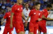 Jürgen Klopp Chelsea mängu eelsel soojendusel