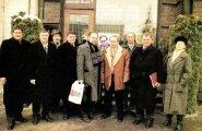 ФОТО: Что делал Владимир Путин в Доме печати во время визита в Таллинн