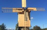 FOTOD: Kaali järve lähedal avati uuestisünni läbi teinud Grepi tuulik