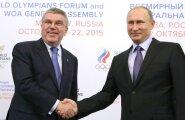 Saksa ajaleht Bild nimetab ROK-i presidenti Thomas Bachi Putini puudliks