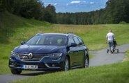 Pilk peale, käsi külge: Renault esitles Eestis universaalkerega Talismani