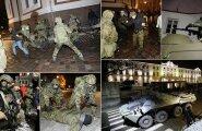 ФОТО DELFI: Военные и полиция перекрыли Тоомпеа