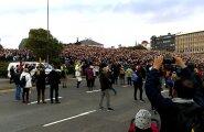 FOTOD JA VIDEOD: Edu EM-il on viimased nädalad jalgpalli taktis elanud islandlastele tõeline suursündmus