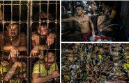 FOTOD: Haigused, mustus ja ei mingit ruumi: 3800 kurjategijat võitleb iga päev vee ja toidu nimel kurikuulsas vanglas, kuhu peaks mahtuma vaid 800