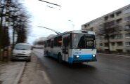 В следующем году в Таллинне перестанет ходить троллейбус №9