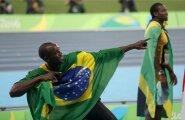 Oma kuulsas võidupoosis Usain Boltil on pärast Rio de Janeiro olümpiamänge üheksa olümpiakulda.