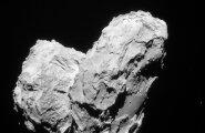 ФОТО: Космический аппарат Rosetta столкнулся с кометой Чурюмова-Герасименко