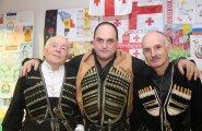 ФОТО читателя Delfi: Грузины и осетины Эстонии вместе отпраздновали День Св. Георгия