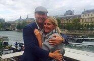 Märt Osula ja Angeelika Kang Pariisis