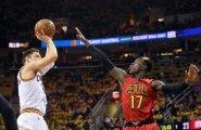 VIDEO: Kolmeste rekordi püstitanud Cavaliers läks Hawksi vastu 2:0 ette