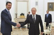 Vladimir Putin, al-Assad