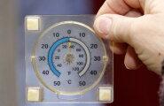 ФОТО DELFI: Замерзающие в Кохтла-Ярве люди спрашивают: за что?
