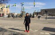 ВИДЕО: Сергей Лазарев упал с декорации на первой репетиции номера к Евровидению
