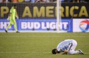 FOTOD JA VIDEO: Messi eksis penaltiseerias ja Argentiina kaotas teist aastat järjest tiitli Tšiilile