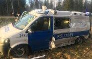 Õnnetus politseibussiga