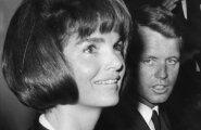 Jackie Kennedy ja John F. Kenndy vend Robert Kennedy